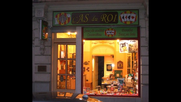 Vitrine - Boutique - Magasin - Perpignan - As du Roi